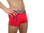 Kelson Triple Pack Trunks, Chili Red with JOCK BOOSTER (PUSH-UP EFFEKT)