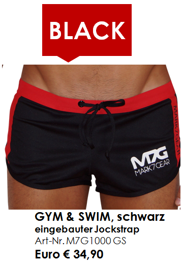 GYM & SWIM BLACK