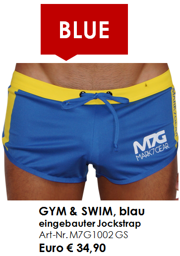 GYM & SWIM BLUE